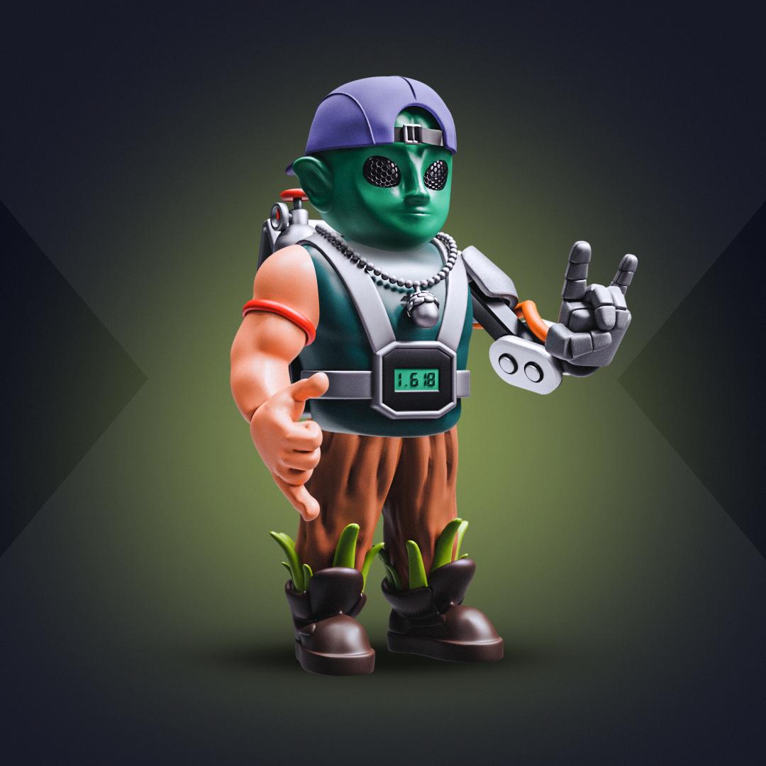 3D SOLDIER #1557